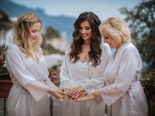 Il matrimonio di Nadia e Nino a Amalfi, Salerno 5