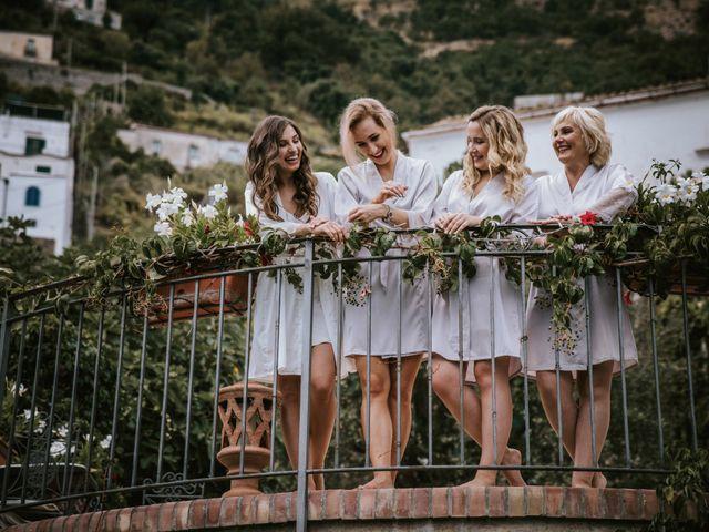 Il matrimonio di Nadia e Nino a Amalfi, Salerno 8