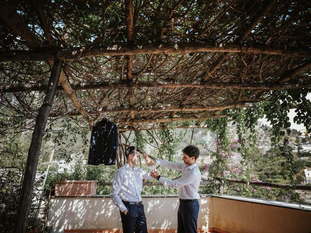 Il matrimonio di Nadia e Nino a Amalfi, Salerno 23