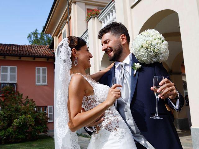 Il matrimonio di Andrea e Clarissa a Piossasco, Torino 22