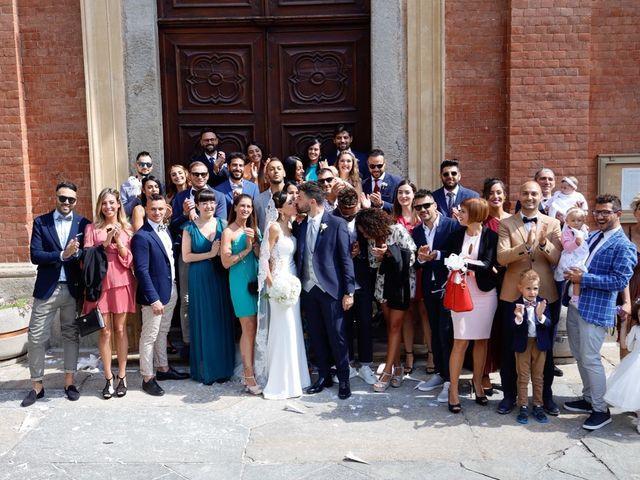 Il matrimonio di Andrea e Clarissa a Piossasco, Torino 45