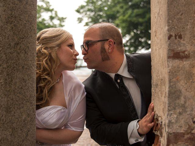 Le nozze di Sabrina e Cristian