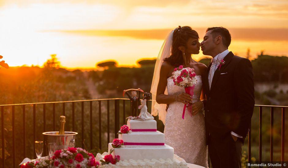 Il matrimonio di Giulio e Silvia a Frascati, Roma