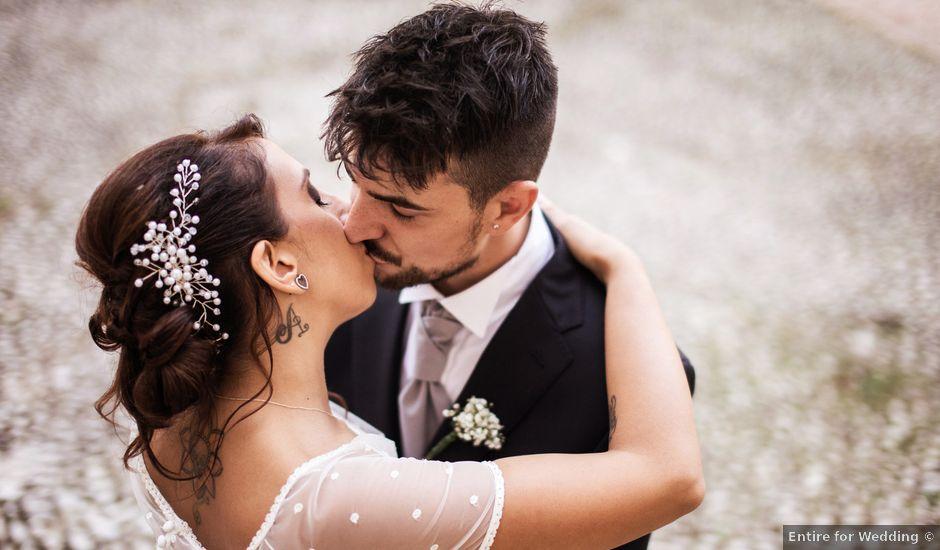 Il matrimonio di Antonello e Priscilla a Castelnuovo di Farfa, Rieti