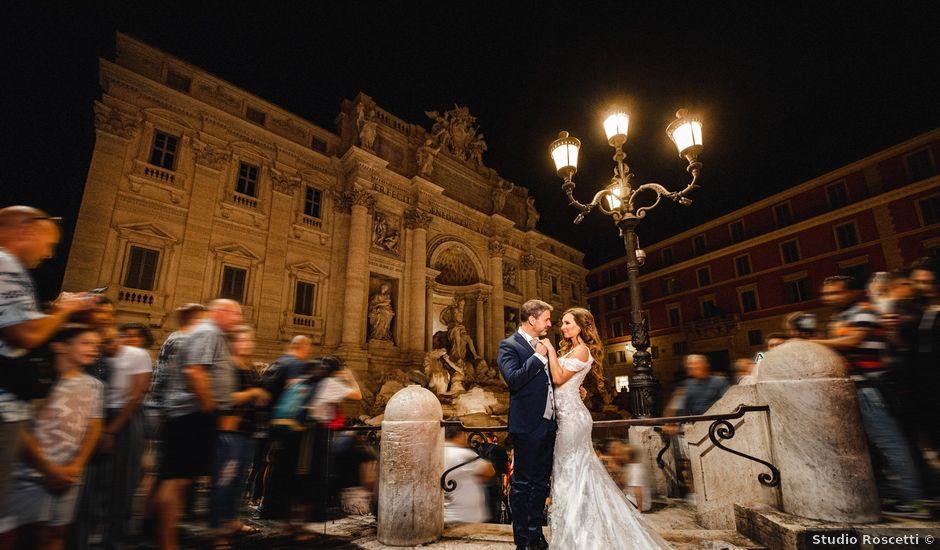 Il matrimonio di Stefano e Natalia a Roma, Roma
