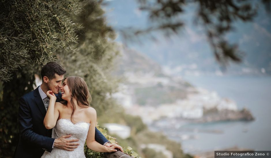 Il matrimonio di Nadia e Nino a Amalfi, Salerno