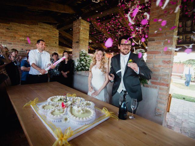 Il matrimonio di Etienne e Carola a Cortazzone, Asti 7