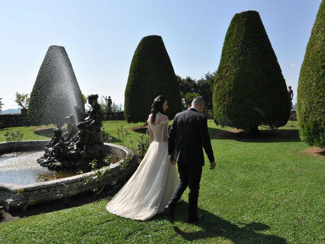 Le nozze di Erika e Dmitry