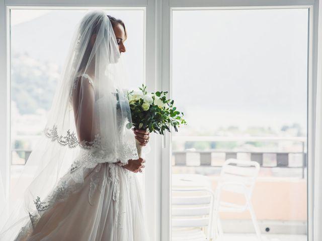 Il matrimonio di Joel e Valentina a Gravedona, Como 14