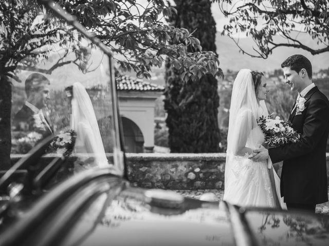 Il matrimonio di Joel e Valentina a Gravedona, Como 50