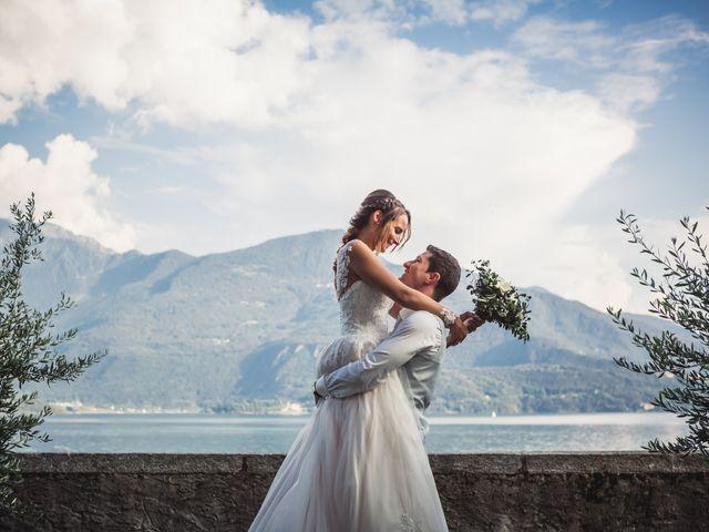 Il matrimonio di Joel e Valentina a Gravedona, Como 62