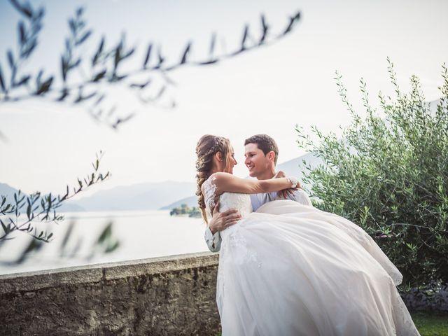 Il matrimonio di Joel e Valentina a Gravedona, Como 64