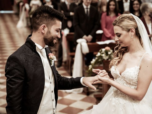 Il matrimonio di Simone e Marta a Campodarsego, Padova 87