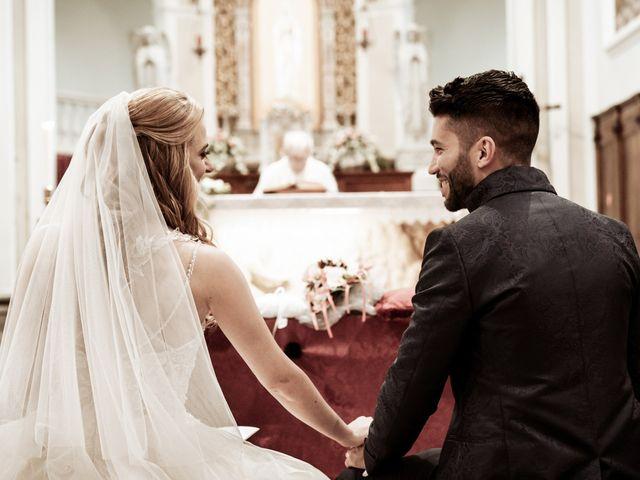 Il matrimonio di Simone e Marta a Campodarsego, Padova 91