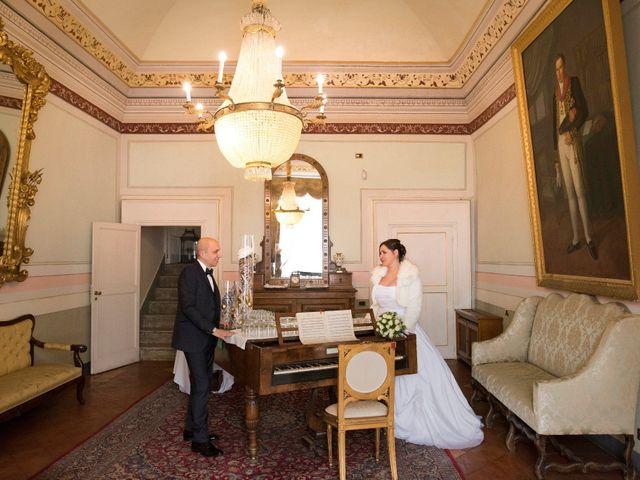 Il matrimonio di Stefano e Sara a Castel San Giorgio, Salerno 1
