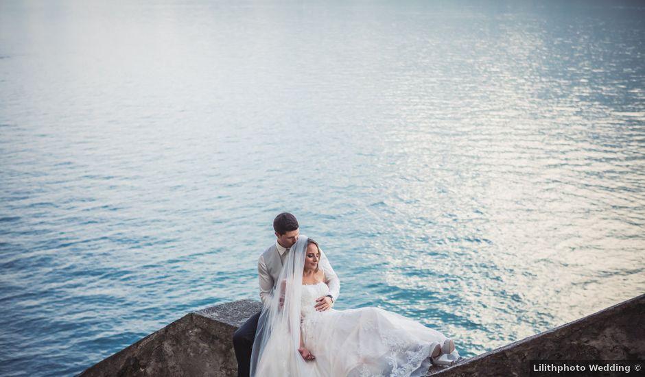 Il matrimonio di Joel e Valentina a Gravedona, Como