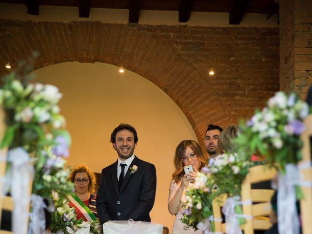 Il matrimonio di Fra e Ste a Certosa di Pavia, Pavia 17