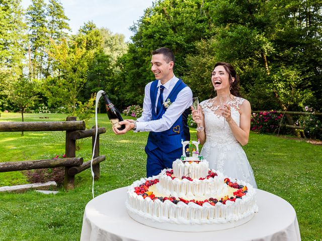Il matrimonio di Luca e Gloria a Galliate, Novara 7