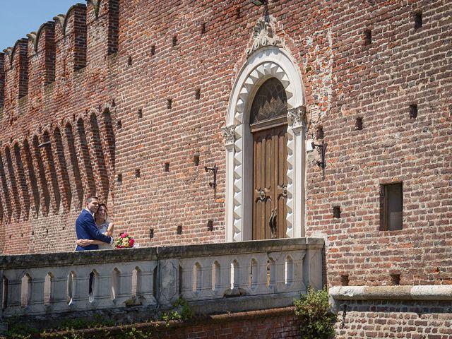 Il matrimonio di Luca e Gloria a Galliate, Novara 9
