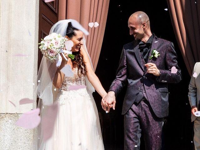 Il matrimonio di Massimo e Flavia a Brugherio, Monza e Brianza 11