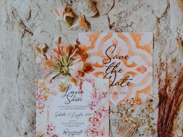 Il matrimonio di Sam e Lucia a Cingoli, Macerata 1