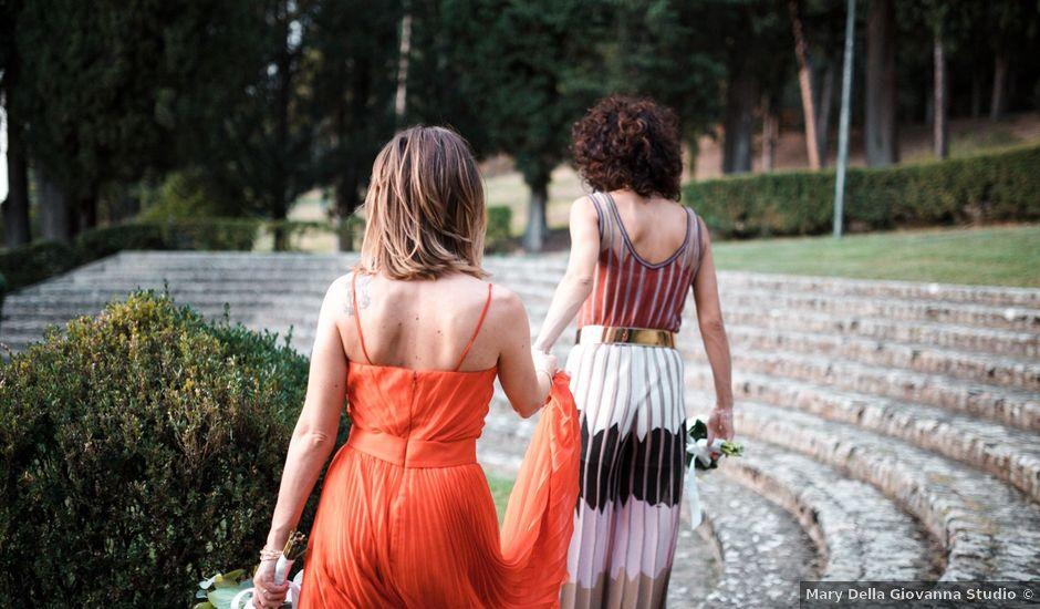 Il matrimonio di Erika e Chiara a Foligno, Perugia