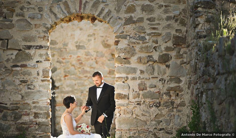 Il matrimonio di Vincenzo e Elvira a Novi Velia, Salerno