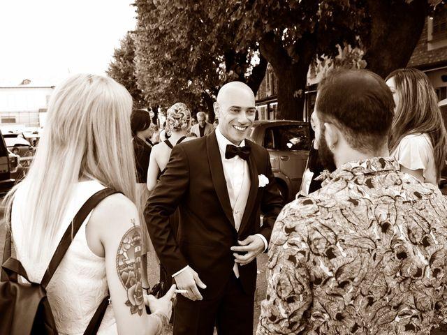 Il matrimonio di Angelo e Giulia a Ghedi, Brescia 29