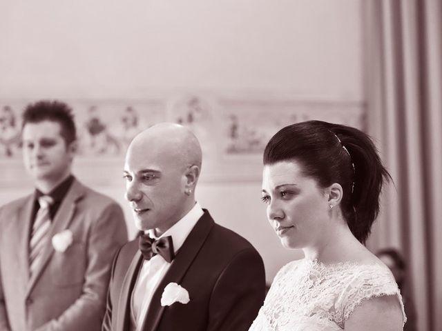 Il matrimonio di Angelo e Giulia a Ghedi, Brescia 33