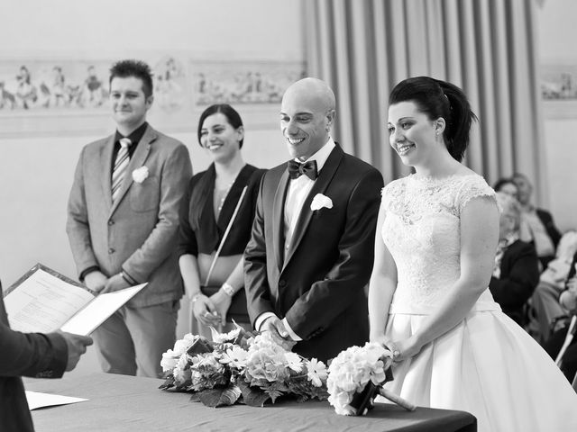 Il matrimonio di Angelo e Giulia a Ghedi, Brescia 34