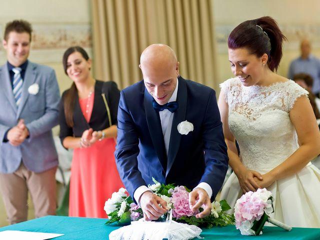 Il matrimonio di Angelo e Giulia a Ghedi, Brescia 35