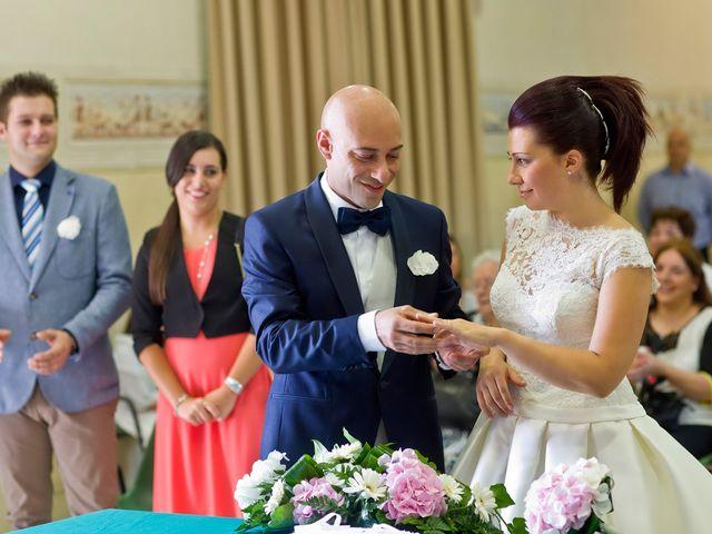 Il matrimonio di Angelo e Giulia a Ghedi, Brescia 36