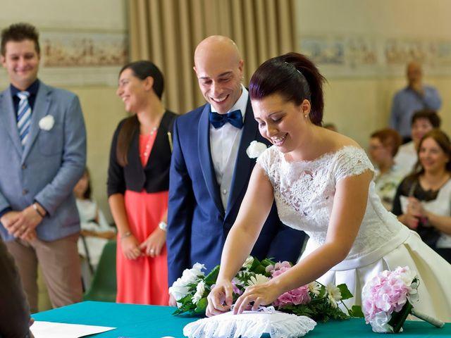 Il matrimonio di Angelo e Giulia a Ghedi, Brescia 37