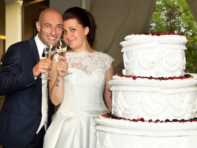 Il matrimonio di Angelo e Giulia a Ghedi, Brescia 71