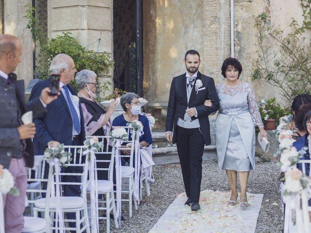 Il matrimonio di Marco e Cristina a Borgo San Lorenzo, Firenze 24