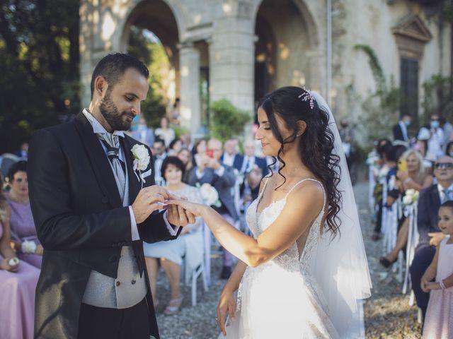 Il matrimonio di Marco e Cristina a Borgo San Lorenzo, Firenze 31