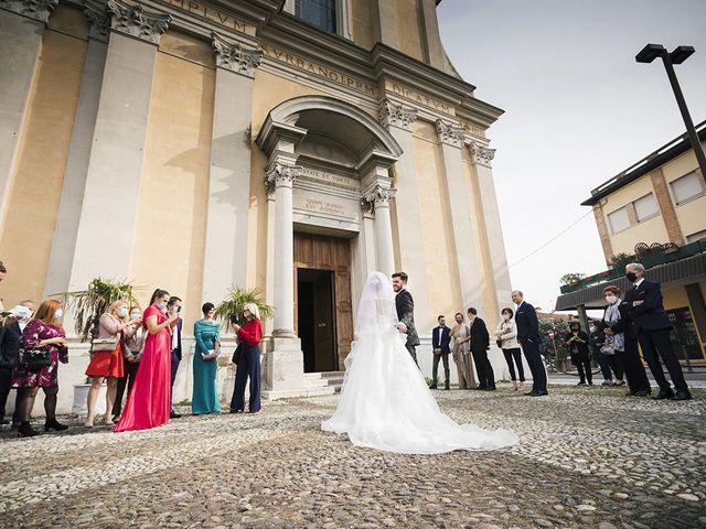 Il matrimonio di Mattia e Laura a Torbole Casaglia, Brescia 26