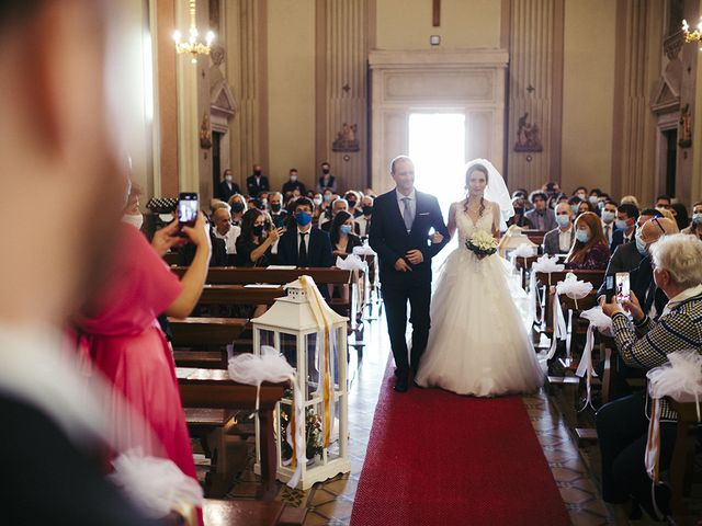 Il matrimonio di Mattia e Laura a Torbole Casaglia, Brescia 30