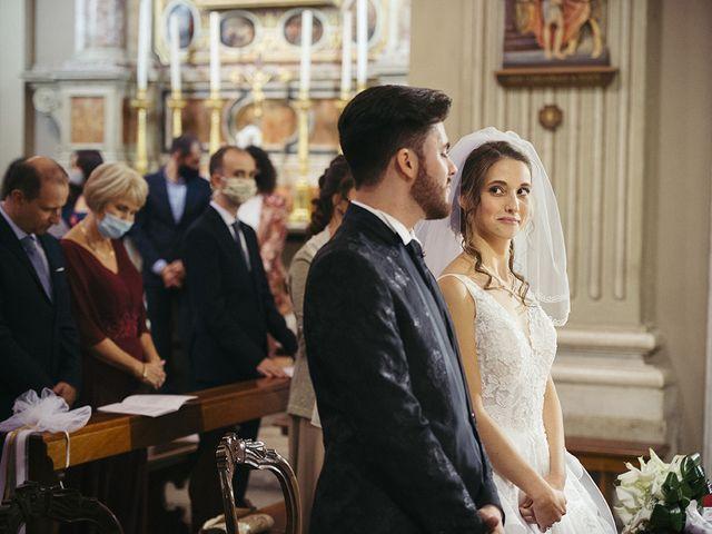 Il matrimonio di Mattia e Laura a Torbole Casaglia, Brescia 32