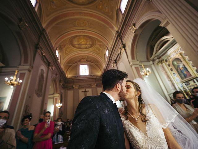 Il matrimonio di Mattia e Laura a Torbole Casaglia, Brescia 39