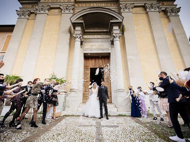 Il matrimonio di Mattia e Laura a Torbole Casaglia, Brescia 40