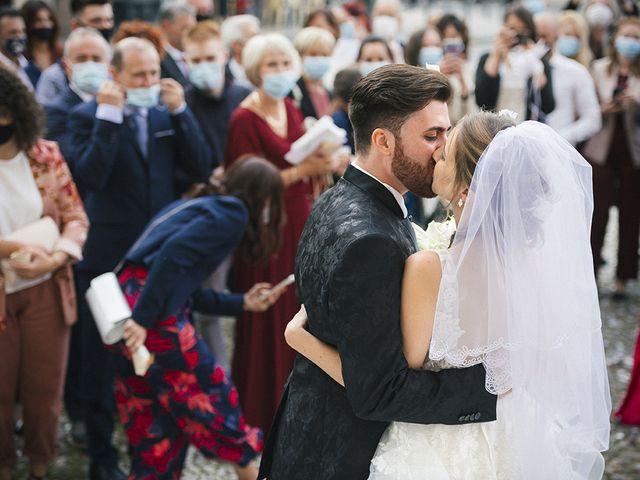 Il matrimonio di Mattia e Laura a Torbole Casaglia, Brescia 43