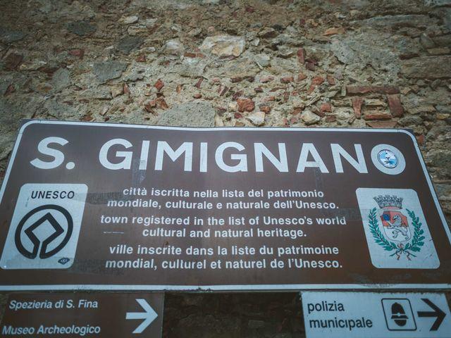 Il matrimonio di Federica e Andi a San Gimignano, Siena 3