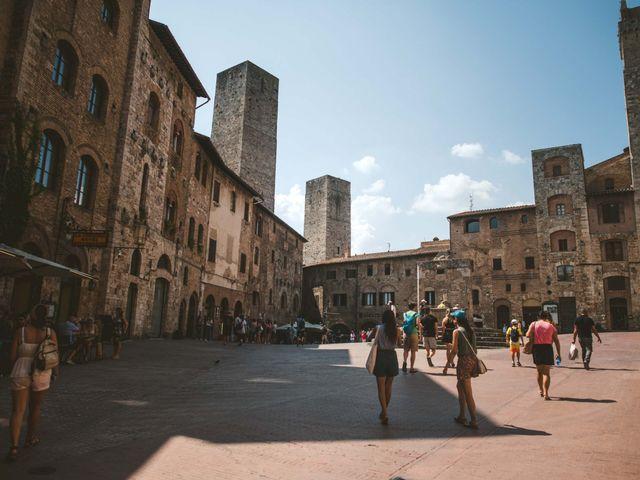 Il matrimonio di Federica e Andi a San Gimignano, Siena 4