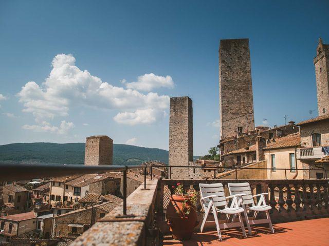 Il matrimonio di Federica e Andi a San Gimignano, Siena 7