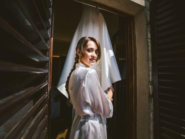 Il matrimonio di Federica e Andi a San Gimignano, Siena 20