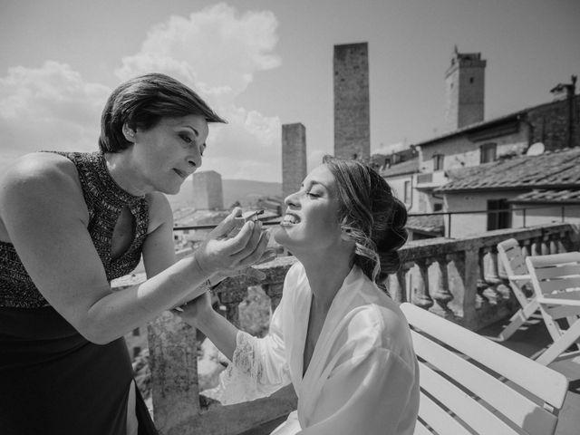 Il matrimonio di Federica e Andi a San Gimignano, Siena 21