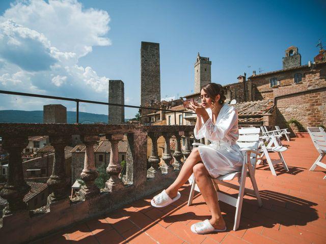 Il matrimonio di Federica e Andi a San Gimignano, Siena 22