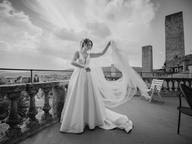 Il matrimonio di Federica e Andi a San Gimignano, Siena 29