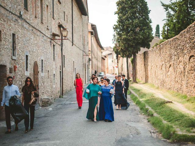 Il matrimonio di Federica e Andi a San Gimignano, Siena 31
